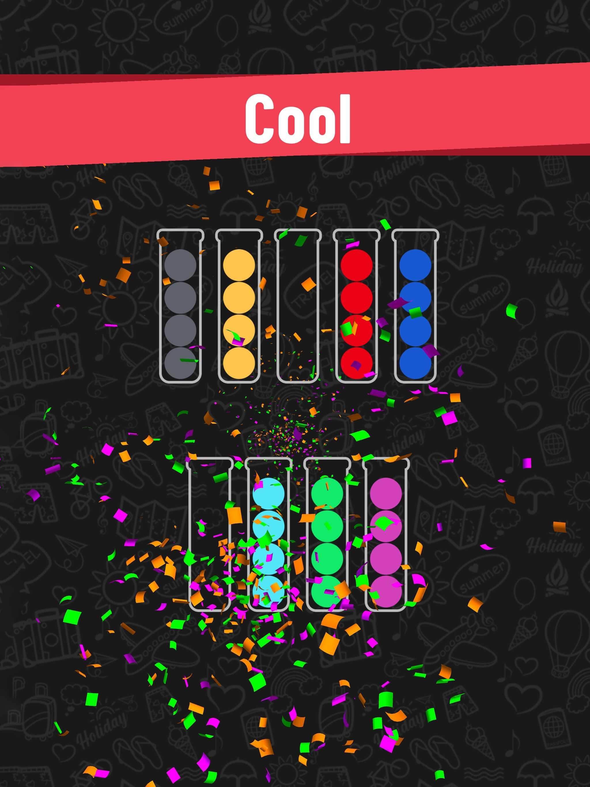 「Ball Sort Puzzle(ボールソートパズル)」をレビュー!面白いのにバズらないのはなぜ?