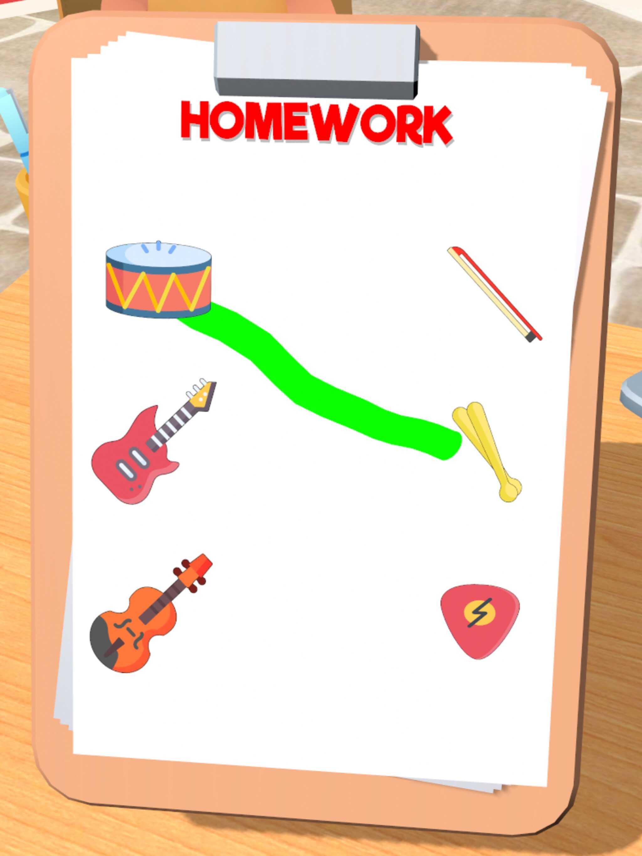 簡単なゲームが詰め込まれた「House Life 3D」
