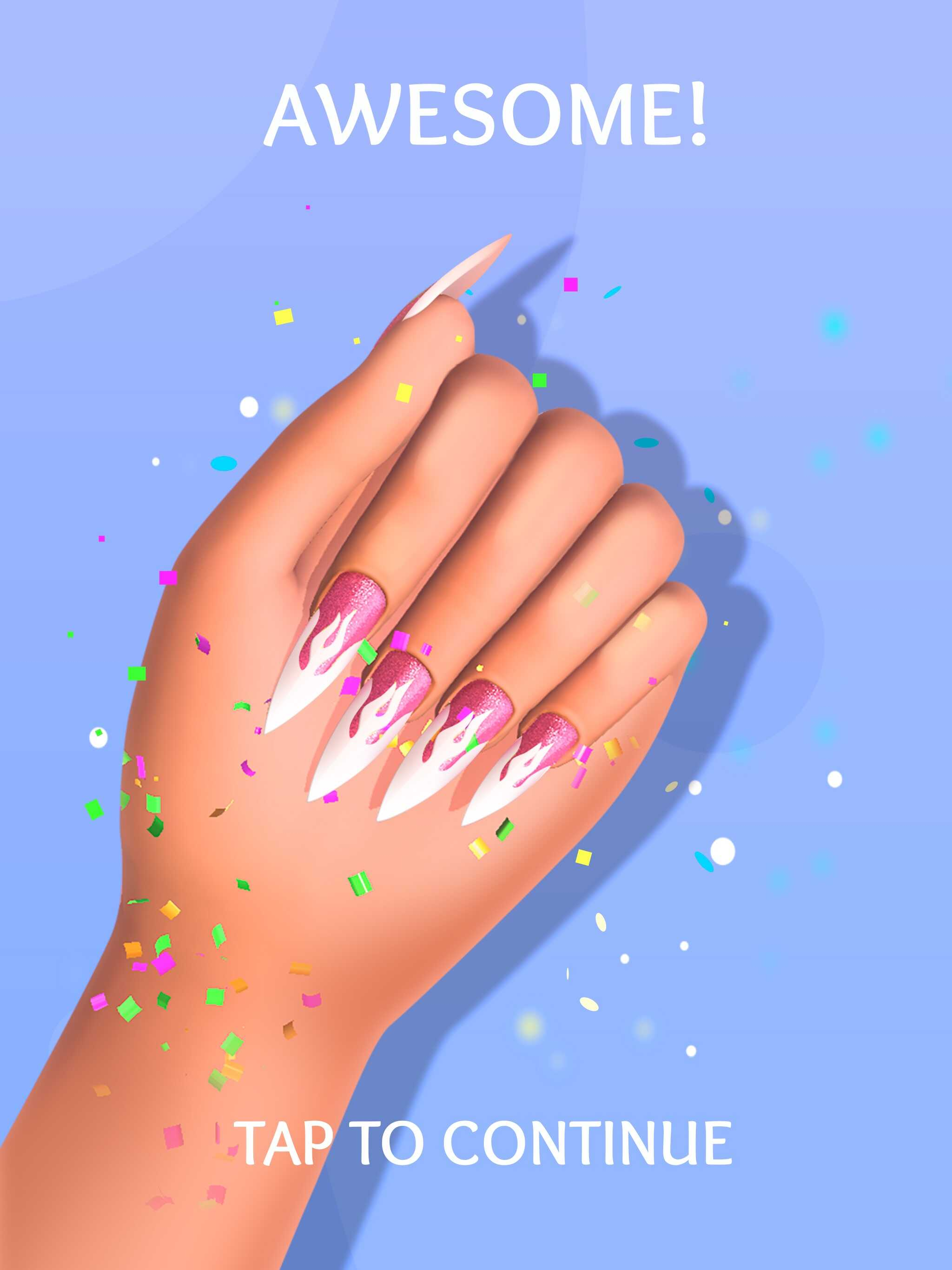 Acrylic Nails!(アクリリックネイルズ)を評価&レビュー!ハイパーカジュアルゲームとして何点?