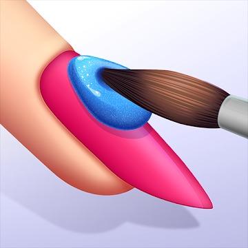 ハイパーカジュアルゲーム「Acrylic Nails!」