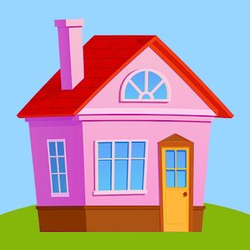 ハイパーカジュアルゲーム「House Life 3D」