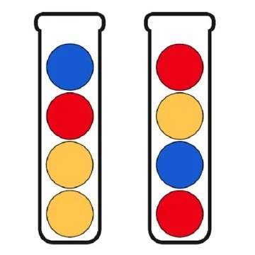 ハイパーカジュアルゲーム「Ball Sort Puzzle」