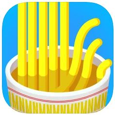 ハイパーカジュアルゲーム「Noodle Master」
