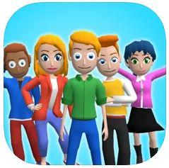ハイパーカジュアルゲーム「Fun High School」