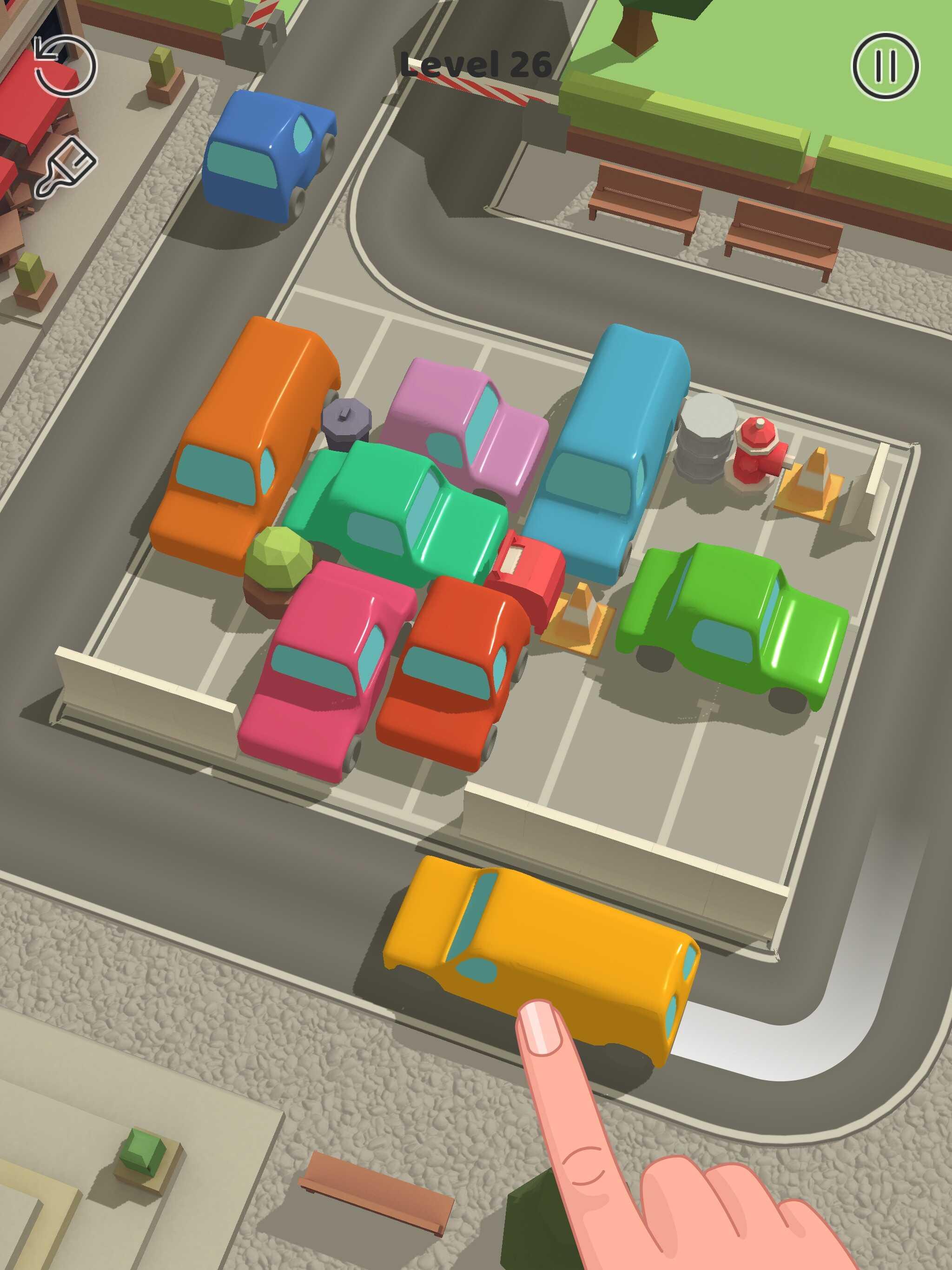 Parking Jam(パーキングジャム)を徹底レビュー!ハイパーカジュアルゲームとしての評価は?成功ポイントもご紹介