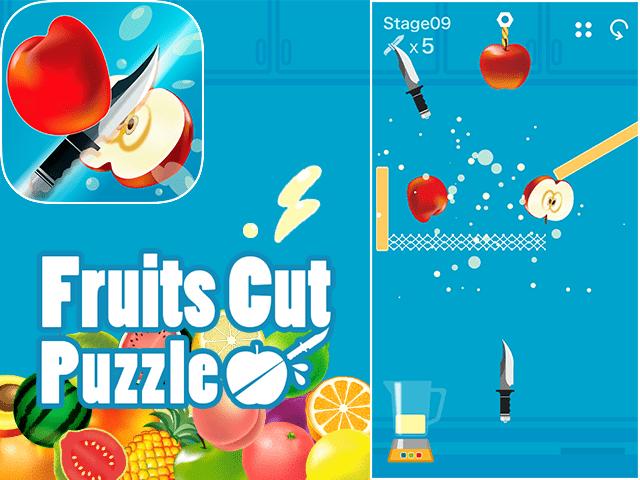 フルーツカットパズル