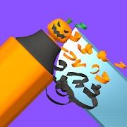 ハイパーカジュアルゲーム「Carve The Pencil」