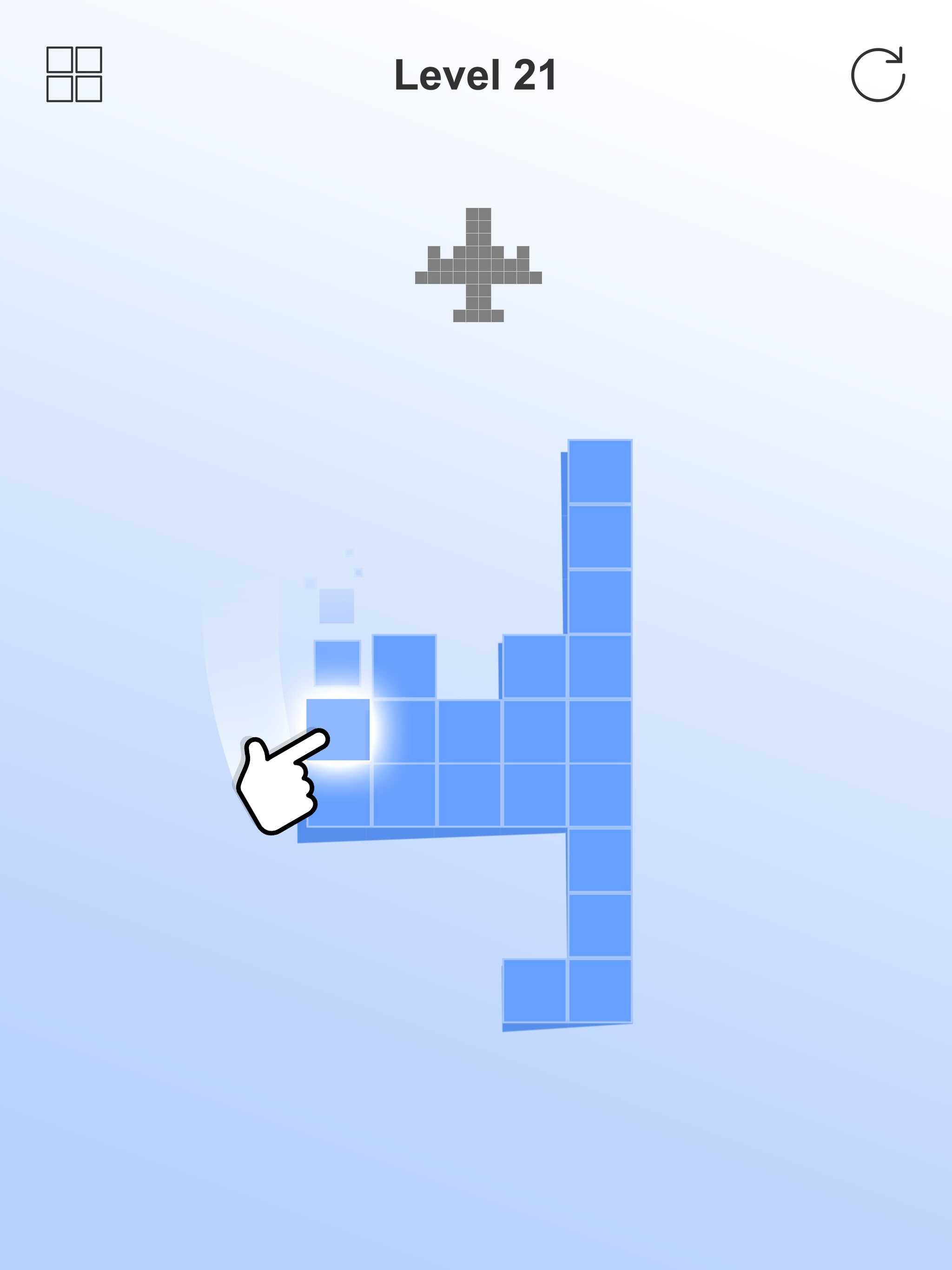 Pixel Match 3Dのゲーム紹介&レビュー