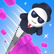 ハイパーカジュアルゲーム「Mr. Slice」