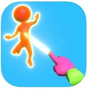 ハイパーカジュアルゲーム「Magic Finger 3D」
