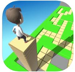 ハイパーカジュアルゲーム「Stacky Dash」