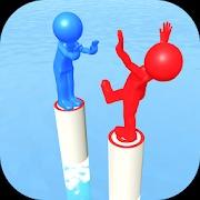 ハイパーカジュアルゲーム「Push Battle」