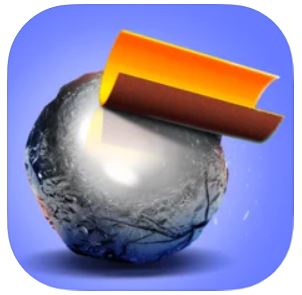 ハイパーカジュアルゲーム「Foil Turning 3D」