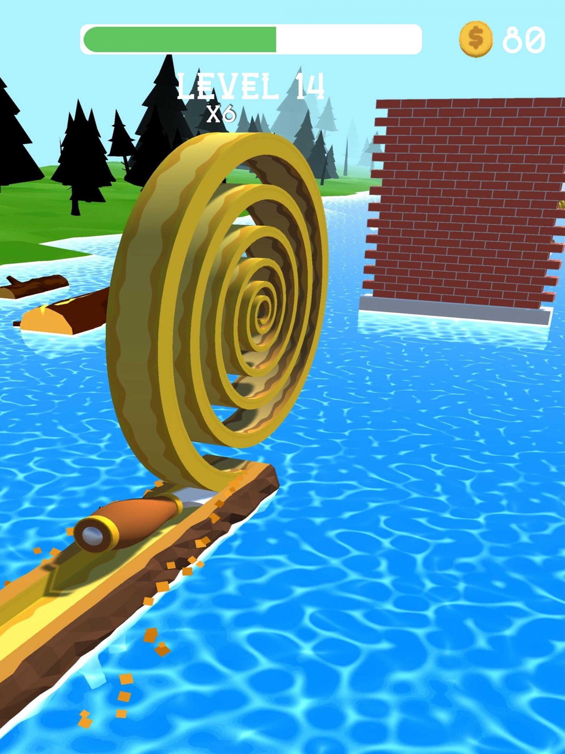 Spiral Rollってどんなハイパーカジュアルゲーム?