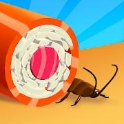 ハイパーカジュアルゲーム「Sushi Roll 3D」
