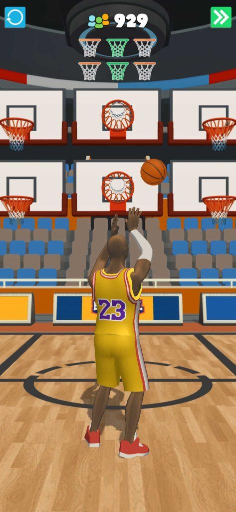 バスケ好きにはおすすめ!ハイパーカジュアルゲームのBasketball Life 3Dをレビューしました!