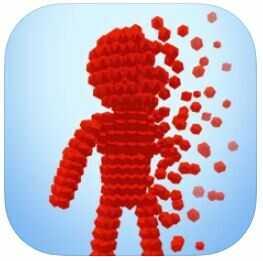 ハイパーカジュアルゲーム「Pixel Rush-Perfect Run」