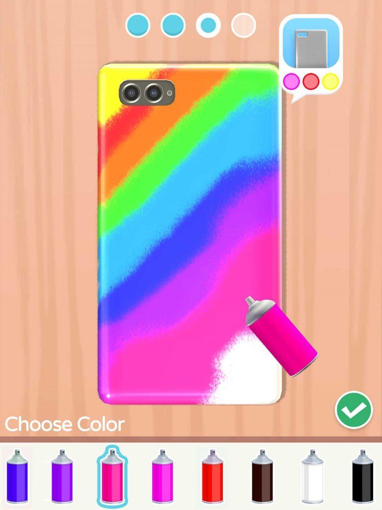 Phone Case DIYをプレイ! スマホのケースを作るゲームとは?