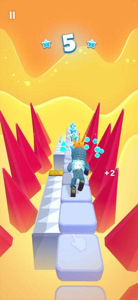 SayGamesのハイパーカジュアルゲームをレビューしてみた!Pixel Rush-Perfect Runの評価とは?