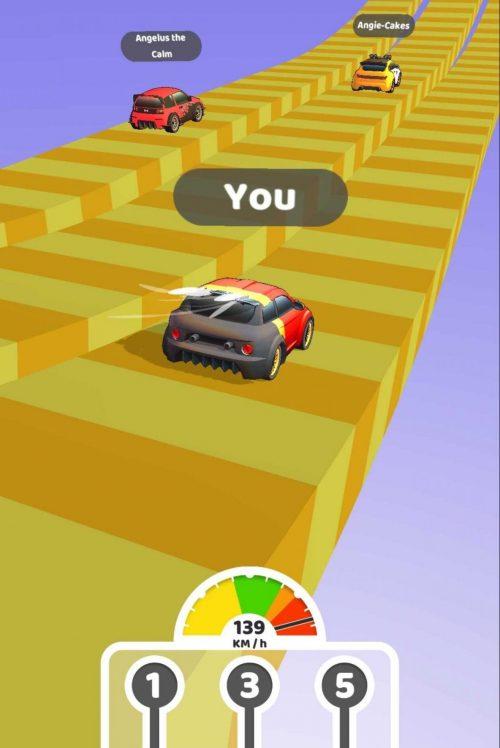 Gear Race 3Dの遊び方