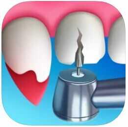 ハイパーカジュアルゲーム「Dentist Bling」