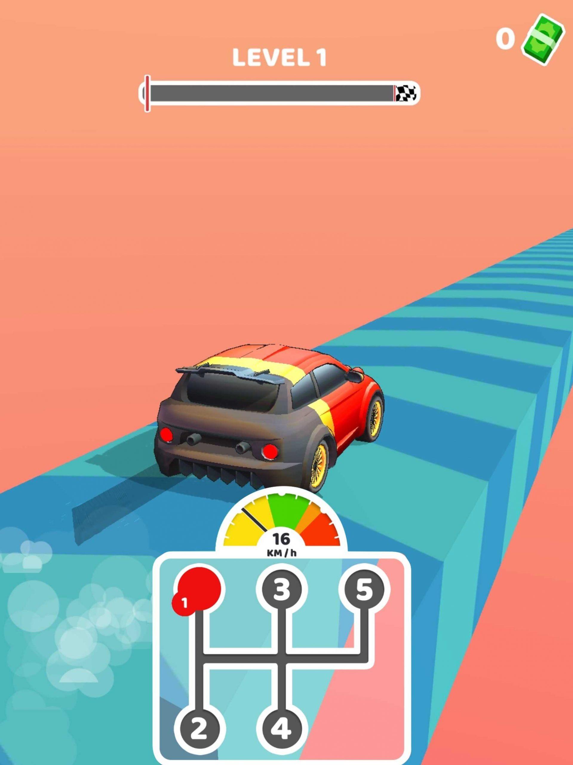 「Gear Race 3D」をプレイ! ハイパーカジュアルゲームとしての評価は?