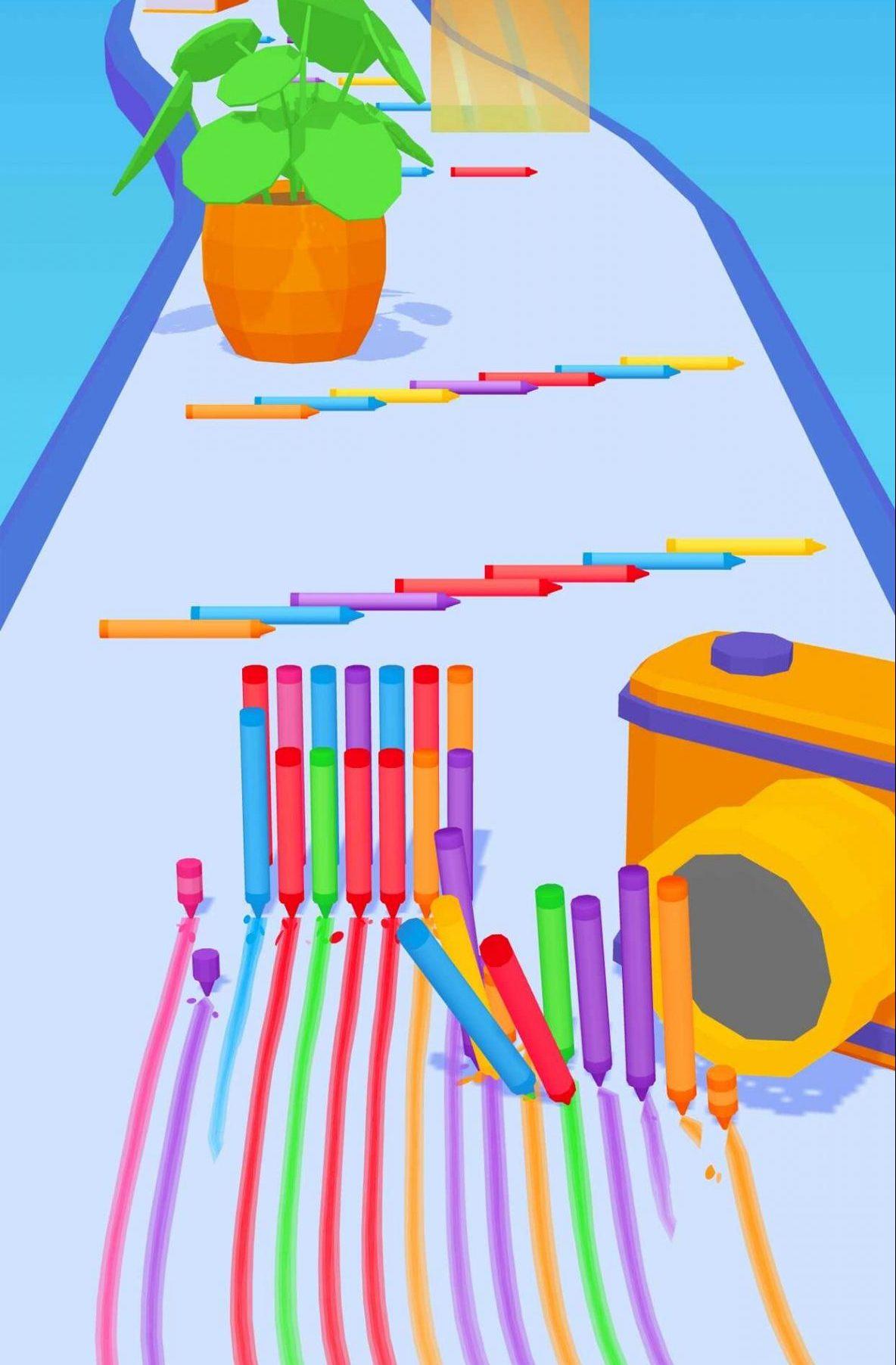 Pencil Rush 3D(ペンシルラッシュ3D)の遊び方って?