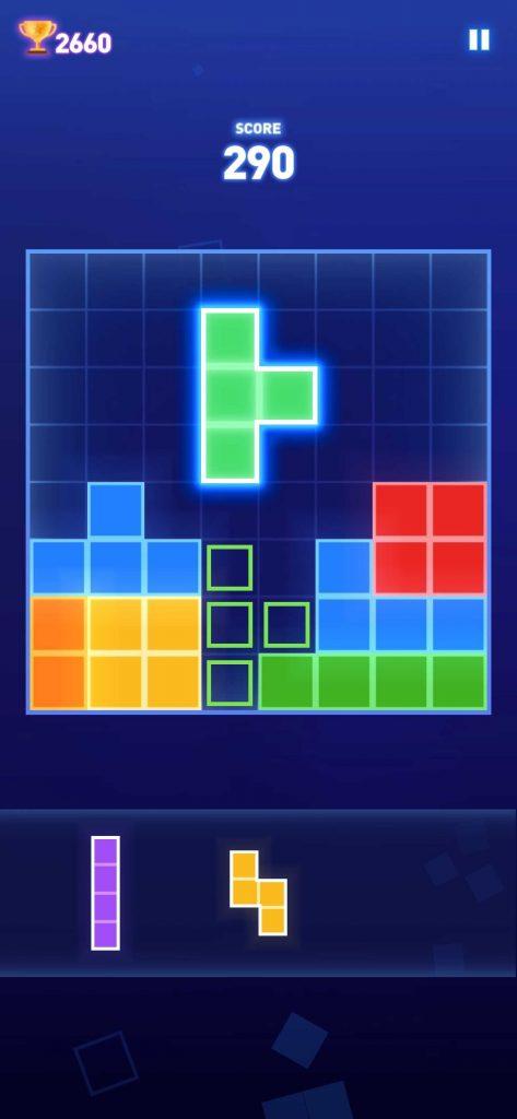 Block Puzzle – Brain Test Gameをレビューしてみた!ハイパーカジュアルゲームとしての評価とは?
