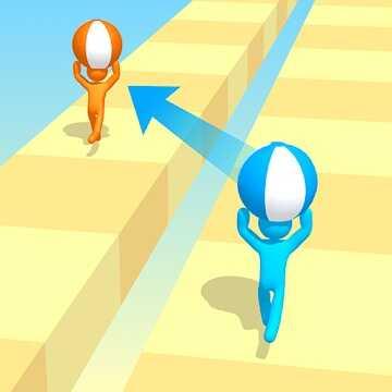 ハイパーカジュアルゲーム「Tricky Track 3D」