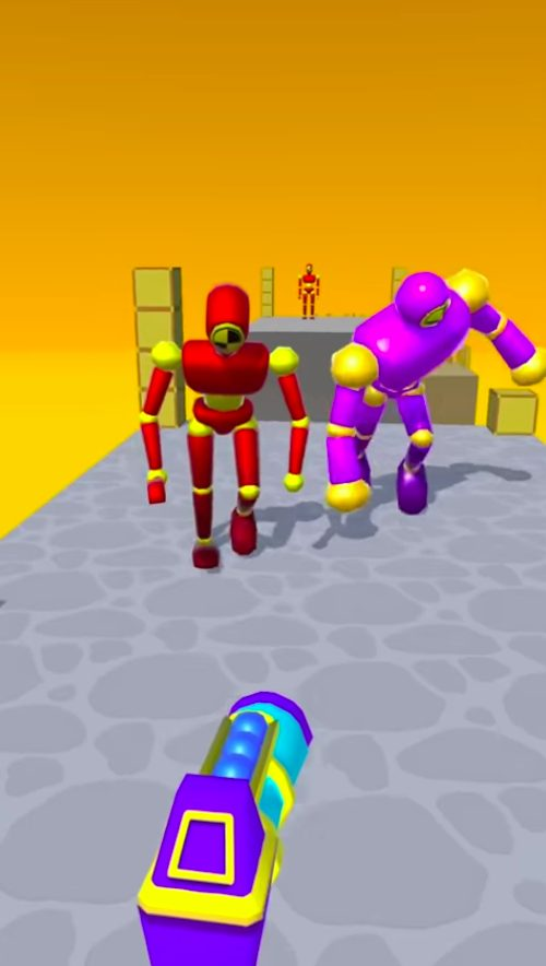Knockem All(全部打とう)はAim系ハイパーカジュアルゲーム