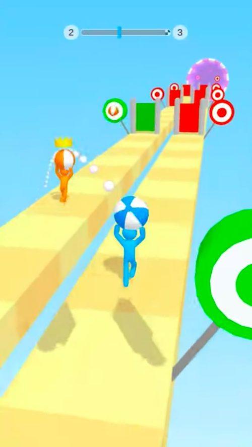 Tricky Track 3DはAim系ハイパーカジュアルゲーム
