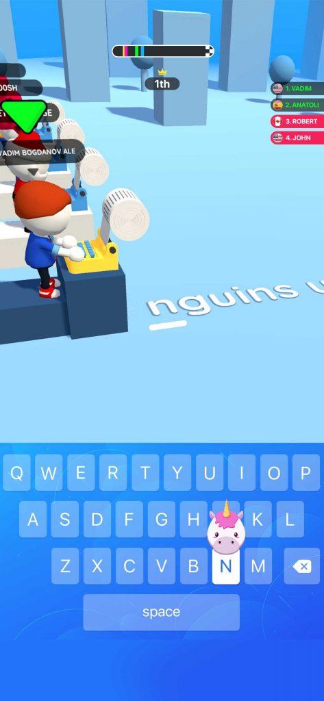 「Happy Printer(ハッピープリンター)」でタイピング力を競え! 話題のハイパーカジュアルゲームをプレイ&レビュー