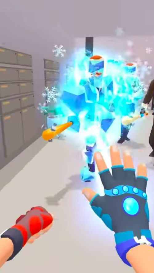 Ice Man 3DはAim系ハイパーカジュアルゲーム