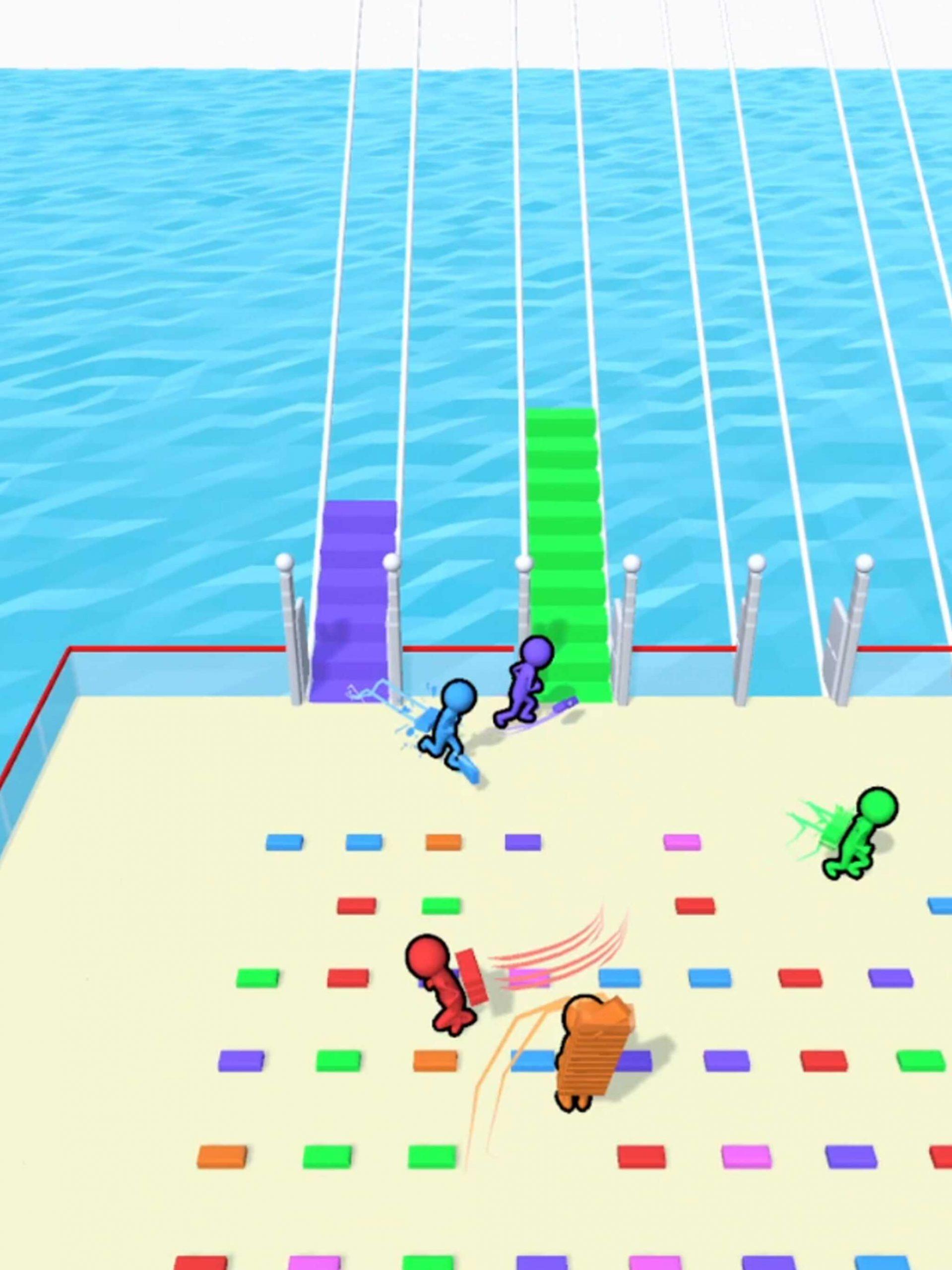橋を作って勝利を掴み取れ! ハイパーカジュアルゲーム「Bridge Race」を正直レビュー!