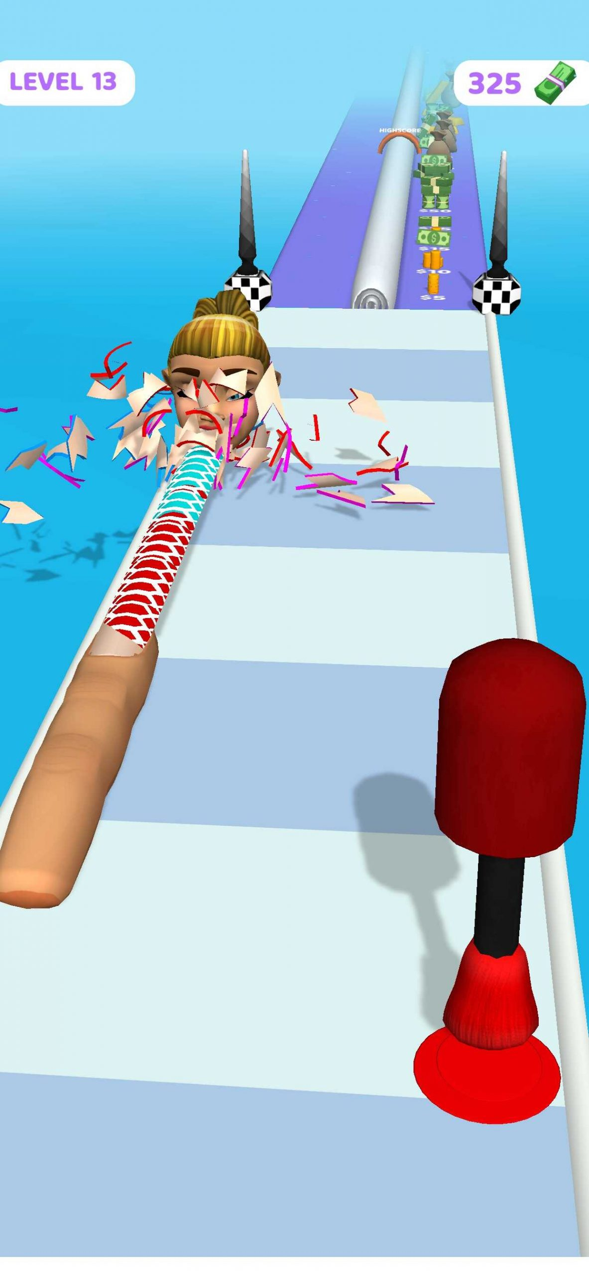 爪を集める新感覚ゲーム「Nail Stack!」!人気のハイパーカジュアルゲームを遊んでみました!